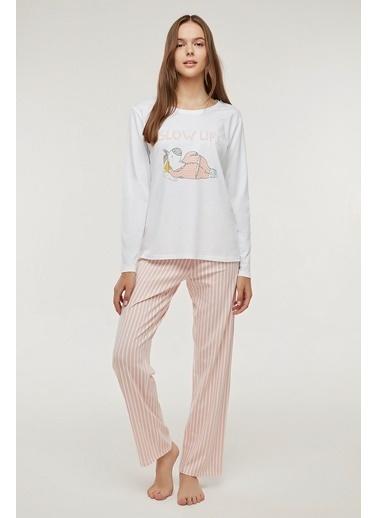 Penti Slow Life Pijama Takımı Renkli
